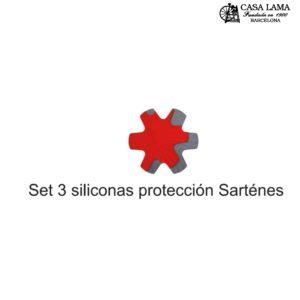 Set 3 Protectores Silicona sartenes Woll